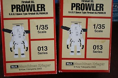 1/35 Hobby Base Lot of (2) Fireball SG. PROWLER S.A.S.F SPACE figure 013 series