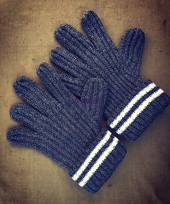 WWII German  army soldiers Wool Gloves  ( All sizes S, M, XL)