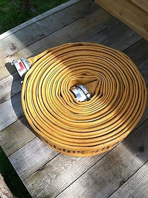 "Angus Supply Hose 100' w/ 4"" Storz Connectors Yellow"