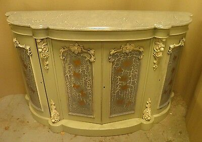 Gorgeous High Victorian Decorative Painted Credenza / Sideboard / chiffonier