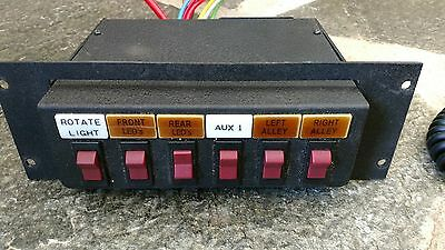 Brooking Industries BR-960 6 control switch