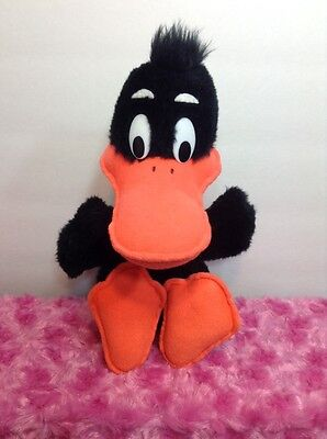 Vintage 1971 Mighty Star Daffy Duck Plush Warner Brothers Looney Tunes Stuffed
