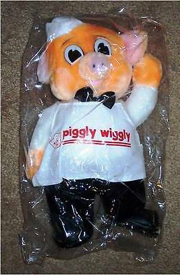 Piggly Wiggly Plush Pig