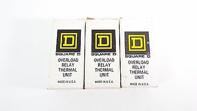 Square D B 19.5 Overload Relay Thermal Units Nib Lot Of 3 Items