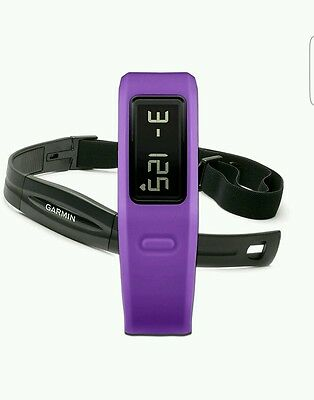 vivofit - Fitness Band Heart rate Bundle - Purple