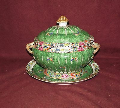 Large Antique Chinese Export Soup Tureen