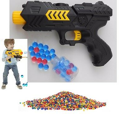 2 in 1 WATER GUN/ BULLET GUN Plus Extra 400PCS Soft Colored Orbeez