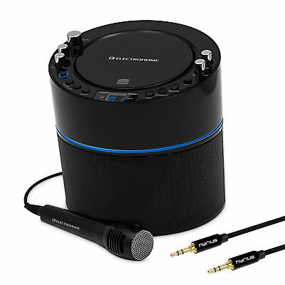 Electrohome Karaoke Machine Speaker System & Bonus 3.5mm Aux Stereo Cable