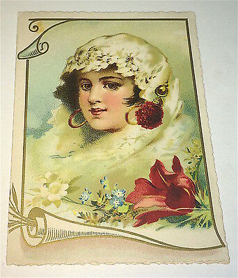 Rare Antique Victorian American Advertising Derr Shoes! Catawissa, PA Trade Card