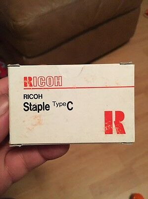 Ricoh Staples C  4 cartridges