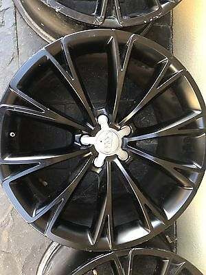 Audi Q7 20 inch wheels black this is for set of 4