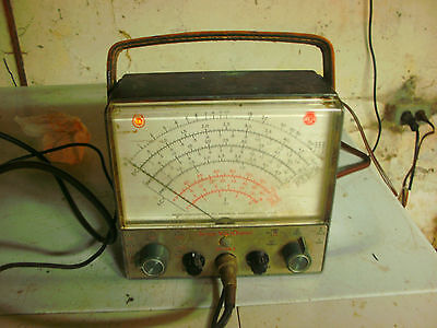 RCA WV-98A Senior Voltohmyst with Wg-299d Probe