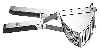 TAYLORS EYE WITNESS Stainless Steel Professional Potato Ricer with Soft Grip Rub