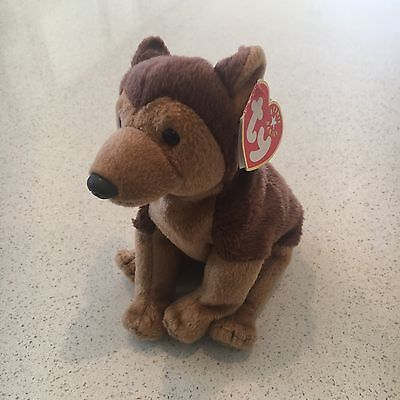 Courage The American Police Dog Beanie Baby TY