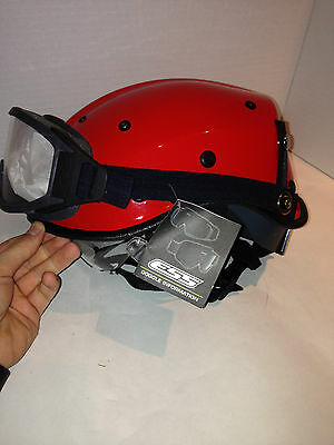 Pacific Helmets R6NV Dominator Rescue Safety Helmet Red ANSI Z89.1-2014 BONUS!