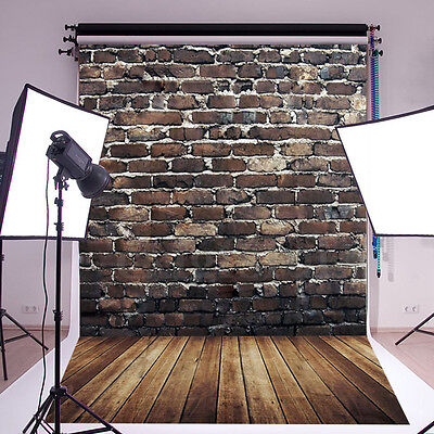 7x5FT Simulation Floor Wall Backdrop Photography Studio Prop Photo Background