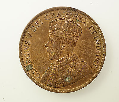 1919 Canada Large One Cent Coin - XF / AU