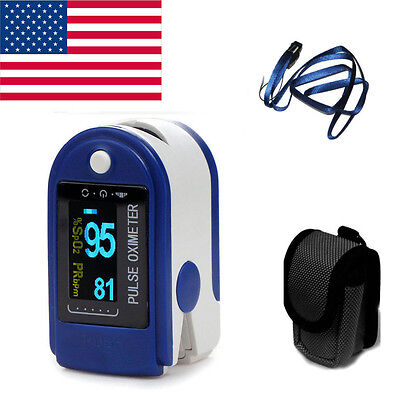 OLED Finger Pulse oximeter SPO2 PR Monitor Pulse Oxymetry Contec CE US SELL
