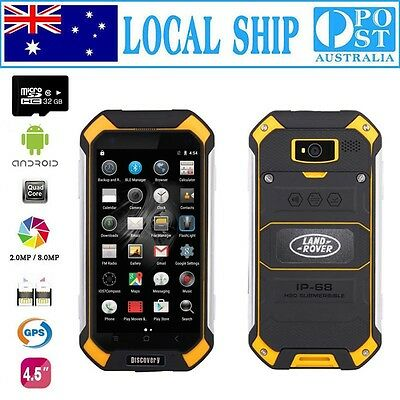 Unlocked Discovery Smartphone Quad Core Rugged Android Smartwild V19+32GB