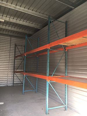 Pallet Steel Racks 2 Level Racking Warehouse Industrial (3 divisions)