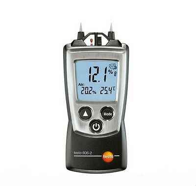 Testo 606-2 Wood&Material Moisture Meter Temp Humidity Test NTC air thermomete