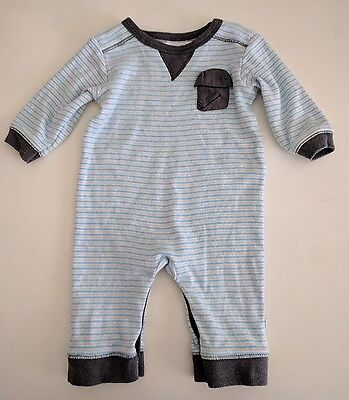 Bebe By Minihaha Baby Boys Bodysuit Growsuit Size 000 (0-3 Months)