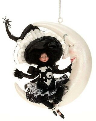 New In Box Limited Edition Mark Roberts Little Girl Witch on Moon  $99.99
