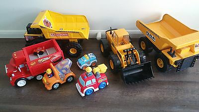 cars and trucks toys