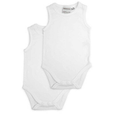 NEW Marquise Sleeveless Bodysuit White Size 00 Set 2pce