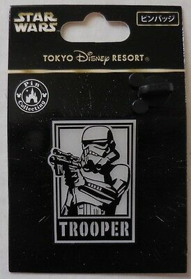 Disney pin TDR Star Wars Posters Stormtrooper New
