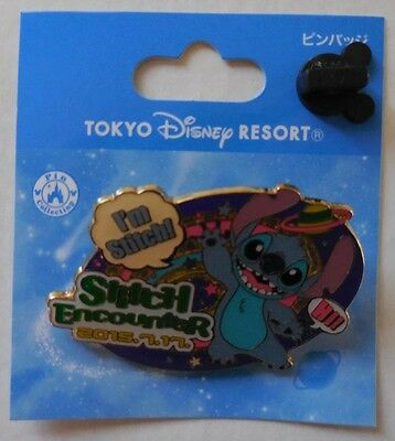 Disney pin TDR Tokyo Disney Resort Stitch Encounter Stitch Pin New