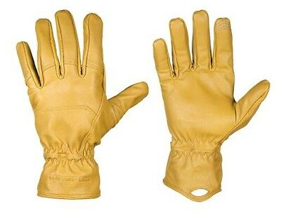 Magpul MAG854 Men's Tan Leather Core Ranch Gloves - Size Large
