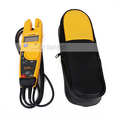 FLUKE T5-600 Voltage Continuity Current Clamp Meter with Labloot  Holster