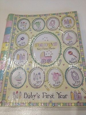 My Baby Memory Record Book First 1st Year Brand New Girl Gift
