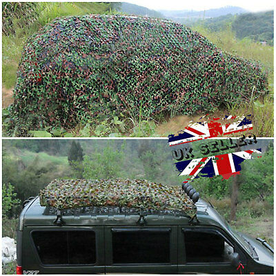 New Camouflage Net Hunting Shooting Camping Woodland Army Camo Netting Hide
