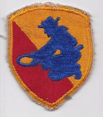 49Th Infantry Division Patch Post Ww2 50S U.s. Army Cut Edge Snowy Back Original