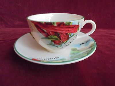 Poole Pottery  ( Tea Cup / Saucer & Small Dish )