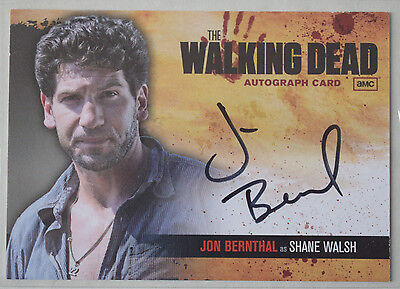 Walking Dead Season 1 Autograph Card A2 John Bernthal as Shane Walsh
