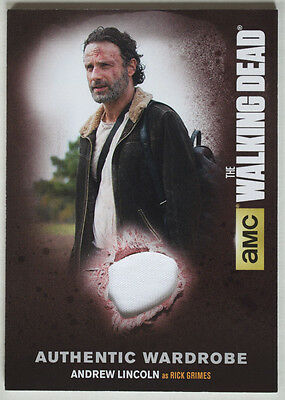 Walking Dead Season 4 Part 2 Costume Card M31 Andrew Lincoln as Rick Grimes
