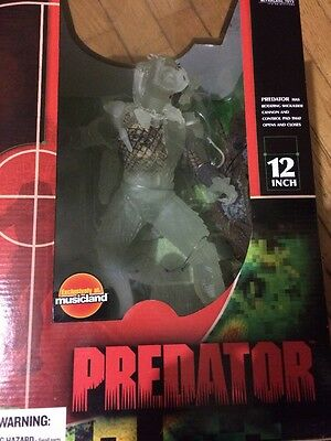 "Stealth Predator 12"" New In Box 2004 Alien And Predator"