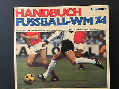 Programme World Cup Munich 74.