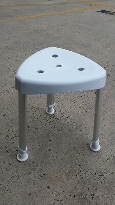 New Triangle-Corner Shower Stool Height Adjustable BSC020428 aged care equipment