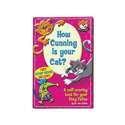 How Cunning Is Your Cat ? IQ Test For Cats with Catnip, Cards and a toy