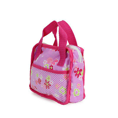 Meired flower bag Wearfor 43cm Baby Born zapf (only sell bag )
