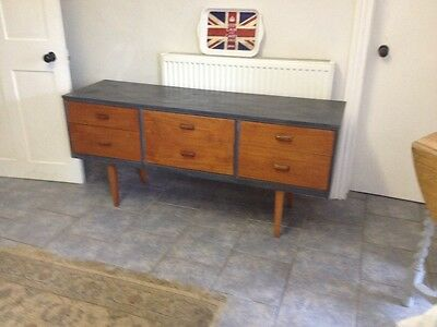 Retro mid century sideboard chest of drawers
