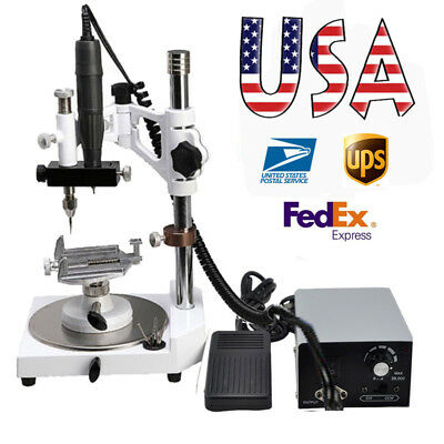 US Dental Lab Marathon Micromotor + 35K RPM Handpiece+ Parallel Surveyor spindle