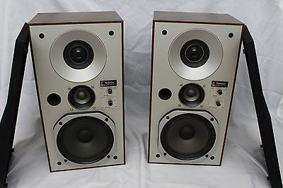 Vintage Technics SB-X3 Speakers - Great Condition - Working - SBX3