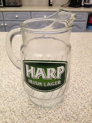Harp Brewery Irish Lager 4 Pint Jug. Very Rare.