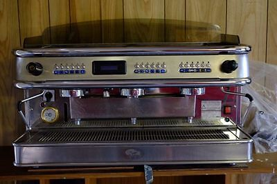 Schibello Imola 3 Group Coffee Machine and Grinder