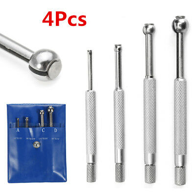 4Pcs Telescopic Gauge Set Small Cylinder Hole Bore Full Ball Type Gage 3mm-13mm